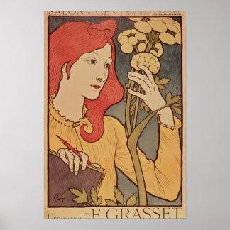 Centavo del DES del salón 1894 Posters