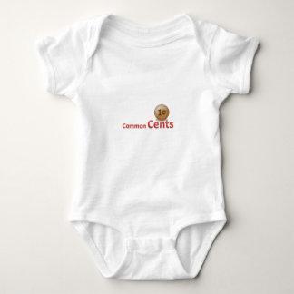 centavos mameluco de bebé