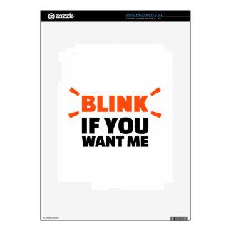 Centelle si usted me quiere calcomanía para iPad 2