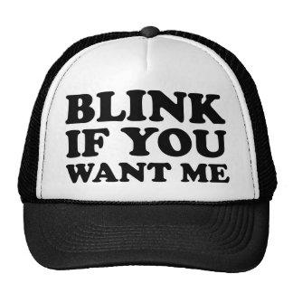 Centelle si usted me quiere gorras de camionero