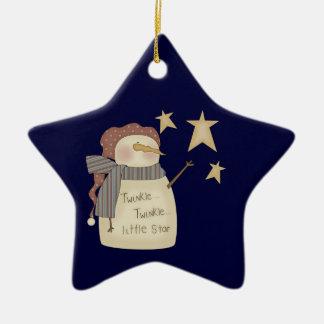 Centelleo poco ornamento del navidad del muñeco de ornamentos para reyes magos