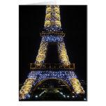 Centelleo, torre Eiffel del centelleo Felicitaciones