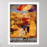 Centenaire de L'Algerie Poster