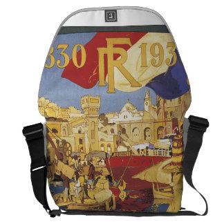 Centenaire de L'Algerie Vintage Travel Poster Messenger Bag