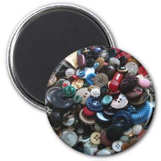 Centenares de imán de los botones