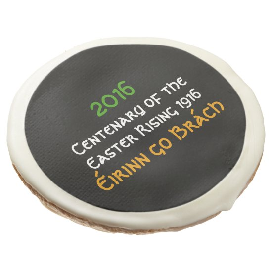 Centenary of the Easter Rising 1916 Party Food Sugar Cookie