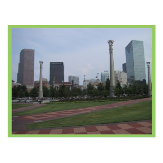 Centenial Olympic Park At Downtown Atlanta, Ga, Postcards