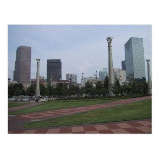 Centenial Olympic Park At Downtown Atlanta, Ga, Postcard