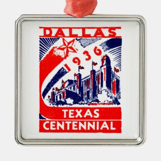 Centennial 1936 de Dallas Tejas Ornamentos De Navidad
