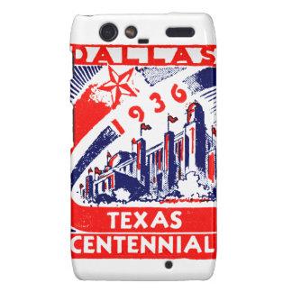 Centennial 1936 de Dallas Tejas Droid RAZR Funda