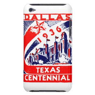 Centennial 1936 de Dallas Tejas iPod Touch Protector