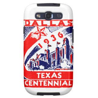Centennial 1936 de Dallas Tejas Galaxy SIII Carcasa