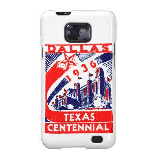 Centennial 1936 de Dallas Tejas Samsung Galaxy SII Fundas