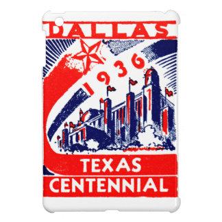 Centennial 1936 de Dallas Tejas iPad Mini Protectores