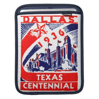 Centennial 1936 de Dallas Tejas Funda Para iPads