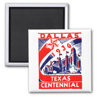 Centennial 1936 de Dallas Tejas Iman Para Frigorífico