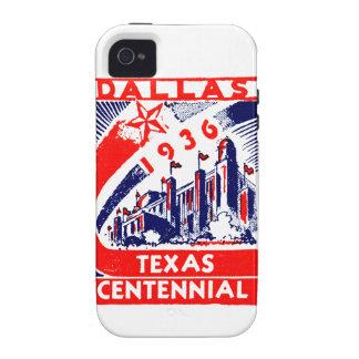 Centennial 1936 de Dallas Tejas iPhone 4 Carcasa