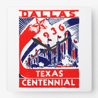 Centennial 1936 de Dallas Tejas Reloj