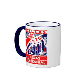 Centennial 1936 de Dallas Tejas Tazas