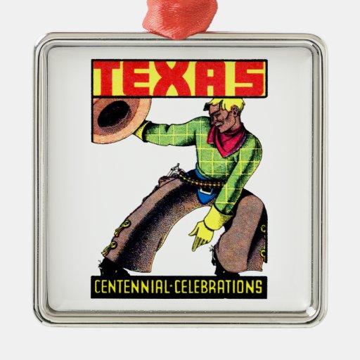 Centennial 1936 de Tejas Ornamento De Navidad