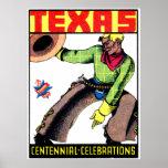 Centennial 1936 de Tejas Posters