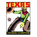 Centennial 1936 de Tejas Tarjetas Postales