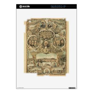 Centennial America (1876) iPad 2 Decals