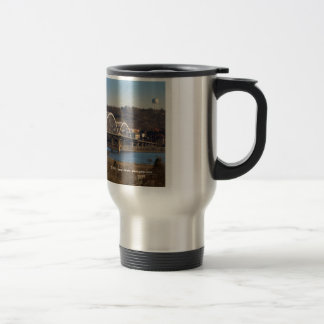 Centennial Bridge Travel Mug