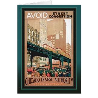 Centennial Chicago del lazo de CTA Tarjeta De Felicitación