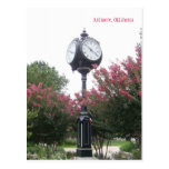 Centennial Clock in Ardmore, Oklahoma Postcard