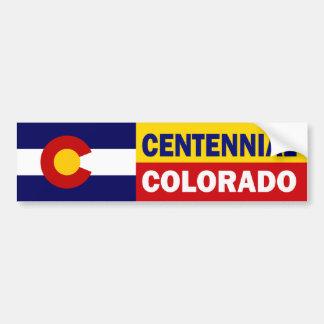 Centennial, Colorado Pegatina Para Auto