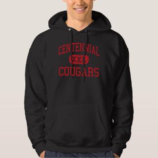 Centennial - Cougars - High - Circle Pines Hoodies