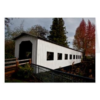 Centennial Covered Bridge, Cottage Grove, Oregon Card