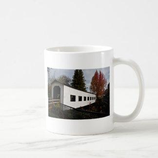 Centennial Covered Bridge, Cottage Grove, Oregon Classic White Coffee Mug