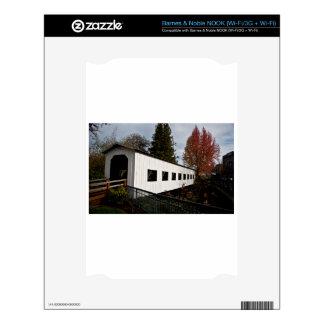 Centennial Covered Bridge, Cottage Grove, Oregon Skin For NOOK