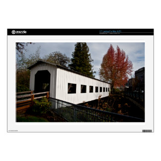 Centennial Covered Bridge, Cottage Grove, Oregon Skin For Laptop