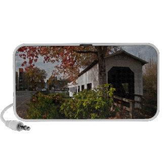 Centennial Covered Bridge, Cottage Grove, Oregon Portable Speaker