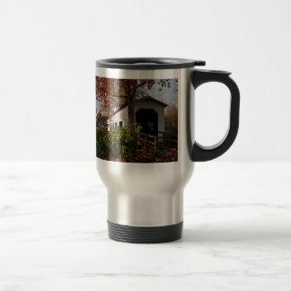 Centennial Covered Bridge, Cottage Grove, Oregon Travel Mug