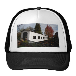 Centennial Covered Bridge, Cottage Grove, Oregon Trucker Hat