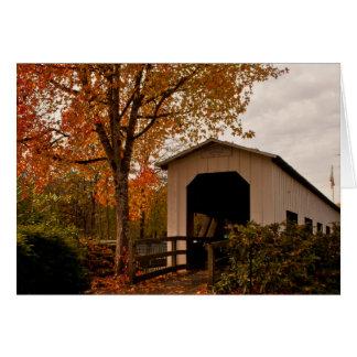 Centennial Covered Bridge, Oregon Card