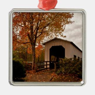 Centennial Covered Bridge, Oregon Christmas Ornament