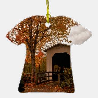 Centennial Covered Bridge, Oregon Christmas Tree Ornament