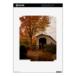 Centennial Covered Bridge, Oregon iPad 2 Decals