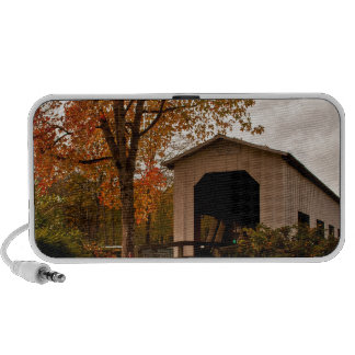 Centennial Covered Bridge, Oregon Notebook Speakers