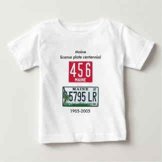 Centennial de la placa de Maine Camisas