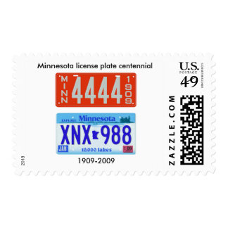 Centennial de la placa de Minnesota Envio