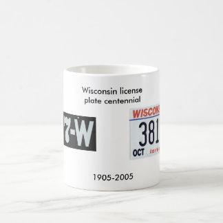 Centennial de la placa de Wisconsin Taza