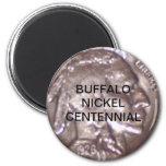 Centennial del níquel del búfalo imán para frigorifico
