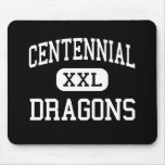 Centennial - Dragons - Alternative - Fort Collins Mouse Pad