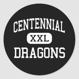 Centennial - Dragons - Alternative - Fort Collins Stickers